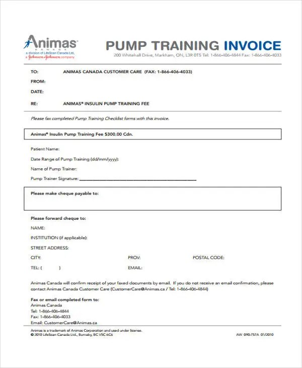 9 Personal Invoice Templates - Sample, Example Free  Premium - Personal Invoice