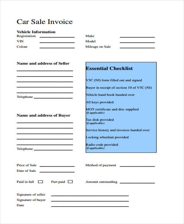 32+ Sample Invoice Templates Free \ Premium Templates - essential invoice elements