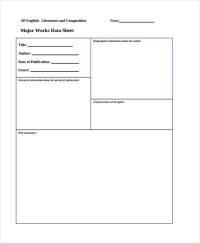 31+ Printable Sheet Templates | Free & Premium Templates