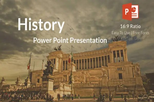 35+ PowerPoint Templates Free \ Premium Templates - history powerpoint template