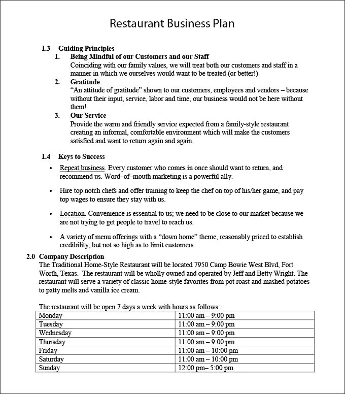 Basic Checklist for Startup Restaurant Business Free  Premium