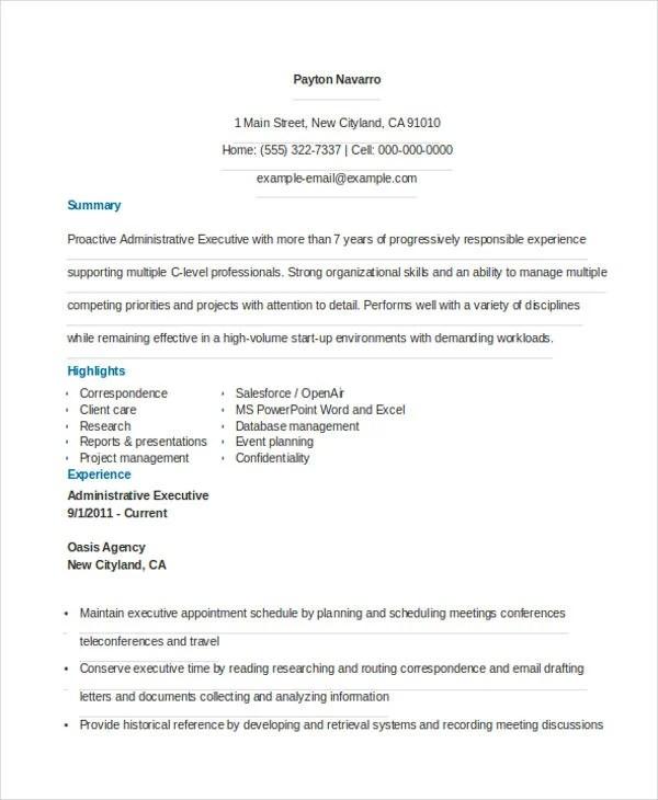 36+ Resume Format - Word, PDF Free  Premium Templates