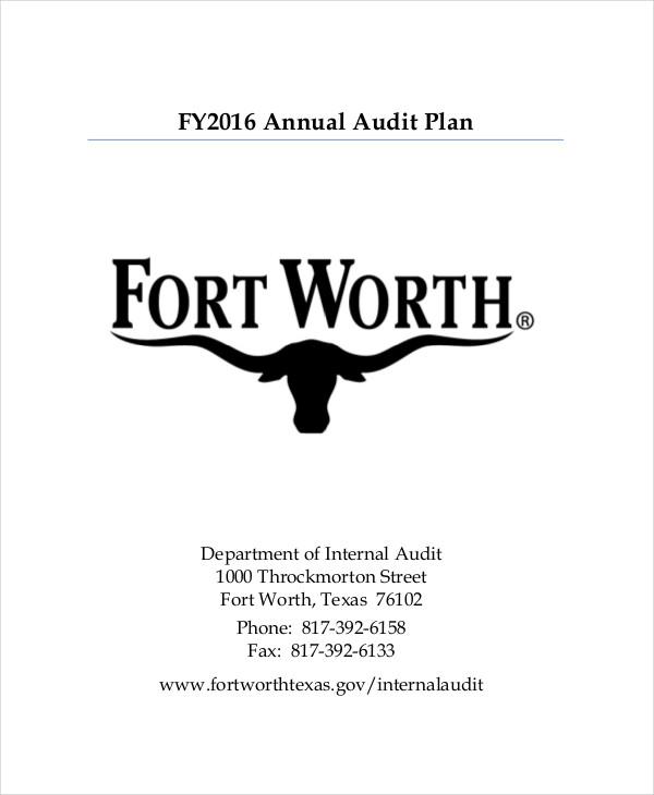 Audit Plan Templates -7+ Free Word, PDF Format Download Free - audit plan template