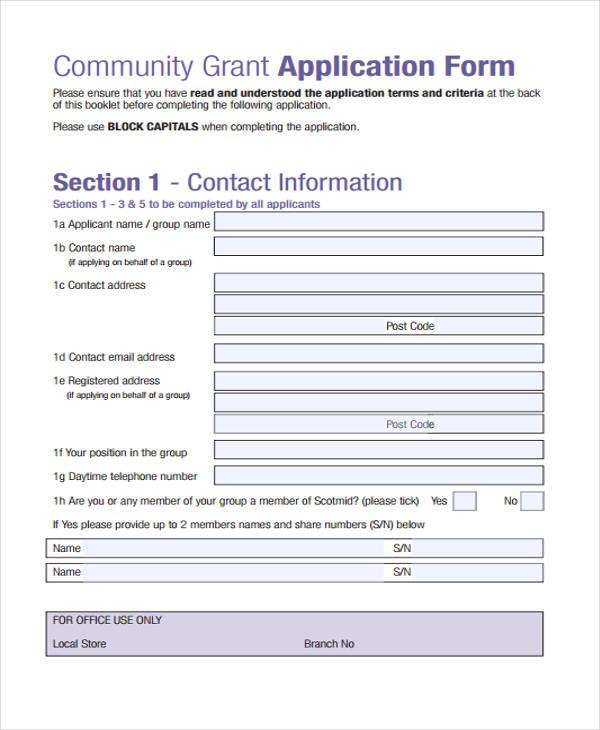 44+ Basic Application Forms Free  Premium Templates