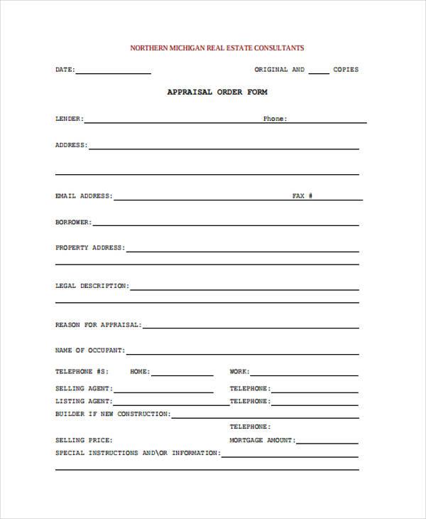 33+ Order Form Formats Free  Premium Templates