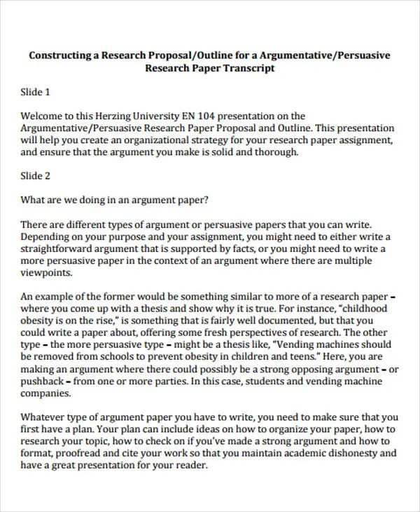 27 Research Paper Examples Free  Premium Templates