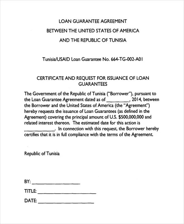 25+ Loan Agreement Formats - Word, PDF, Pages Free  Premium Templates