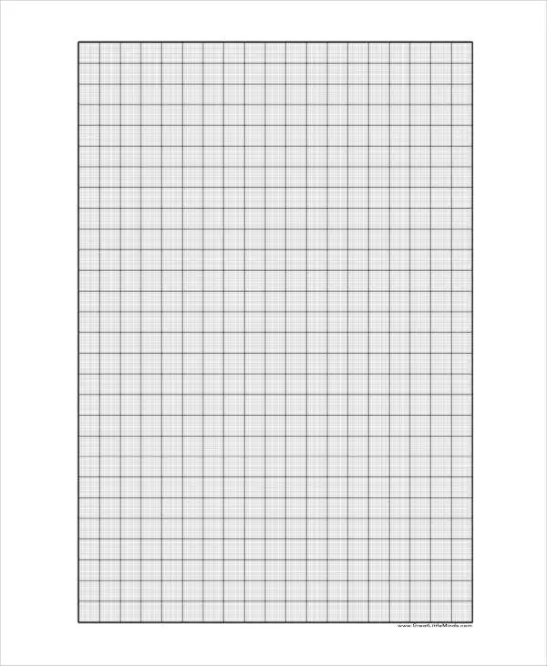 Printable Graph Paper Templates - 10+ Free Samples, Examples Format