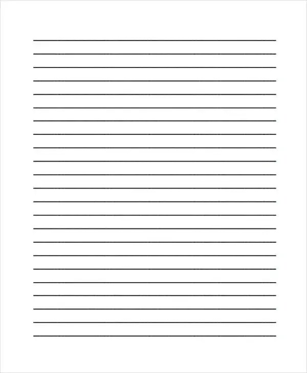 Free lined printable paper jobsbillybullockus – Free Lined Printable Paper