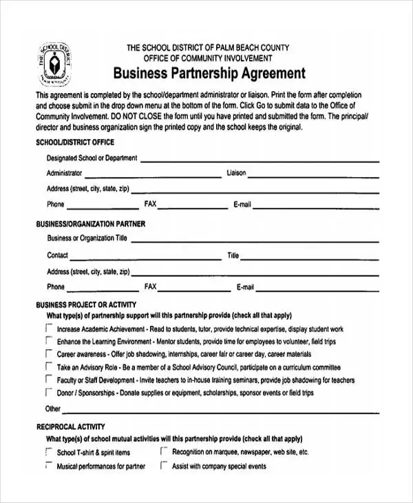 34+ Simple Agreement Forms Free  Premium Templates - simple agreement form