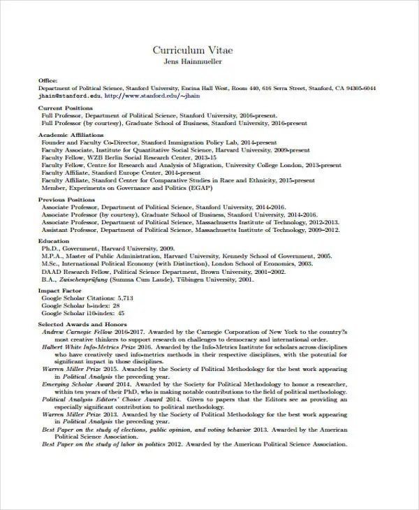 graduate school application resume template curriculum vitae for