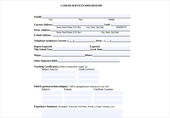 emory resume guide