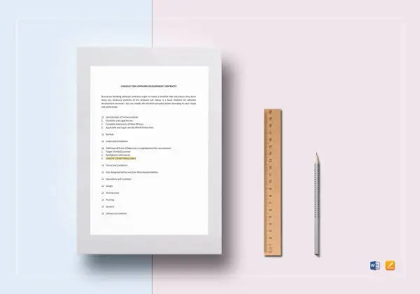10+ Development Contract Templates - Sample, Word, Google Docs