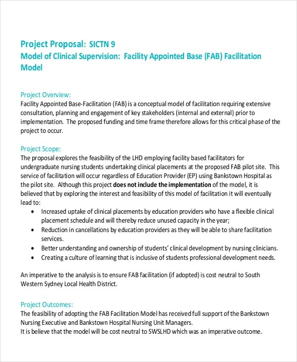36+ Project Proposal in PDF Free  Premium Templates - professional project proposal