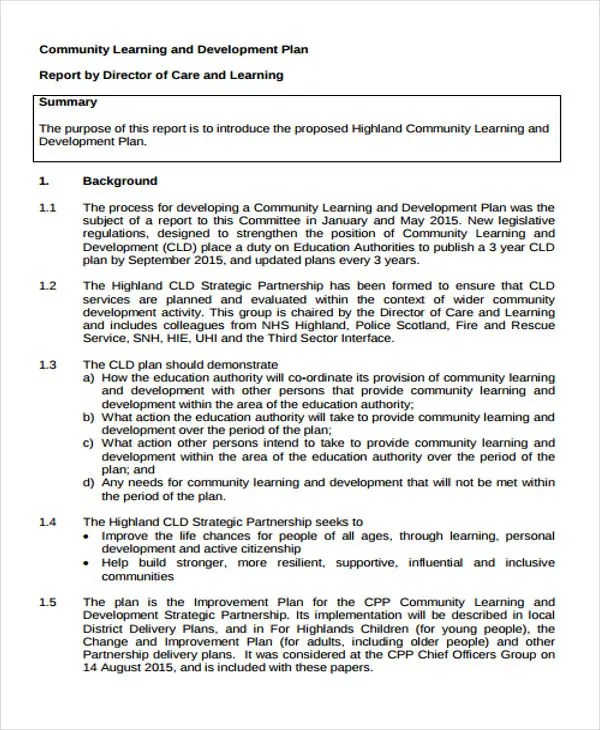 Exelent Personal Learning Plan Template Image Collection - Resume