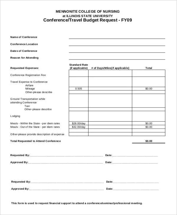 Enchanting Budget Request Template Gift - Resume Ideas - namanasa