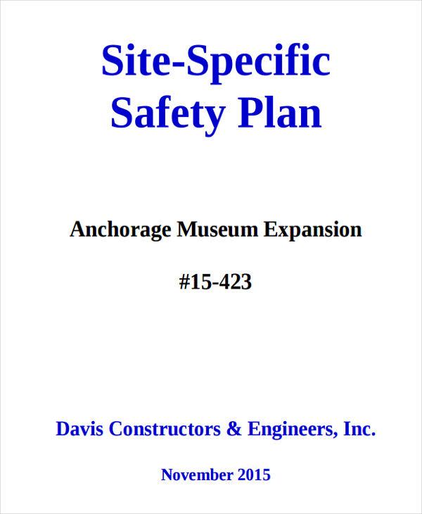 29+ Safety Plan Samples Free  Premium Templates