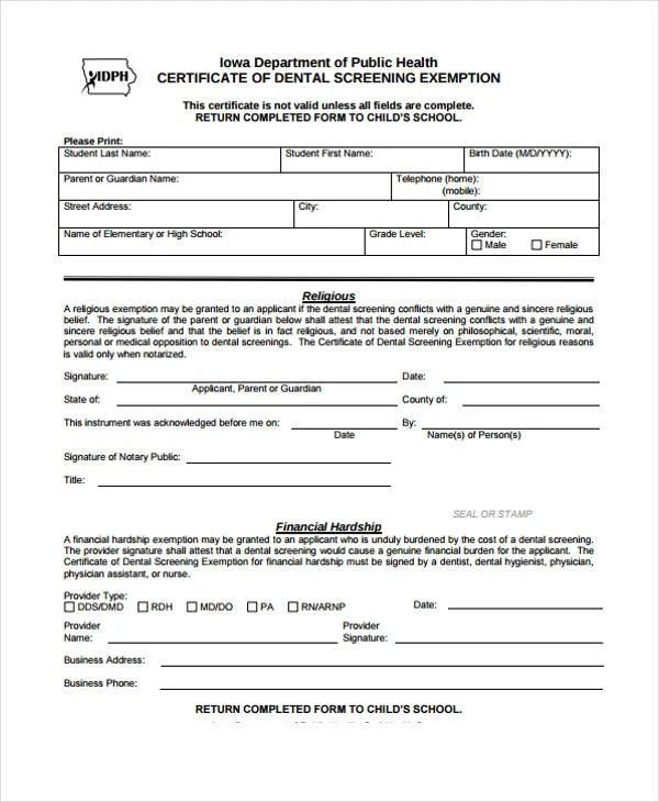 28+ Medical Certificate Templates in PDF Free  Premium Templates