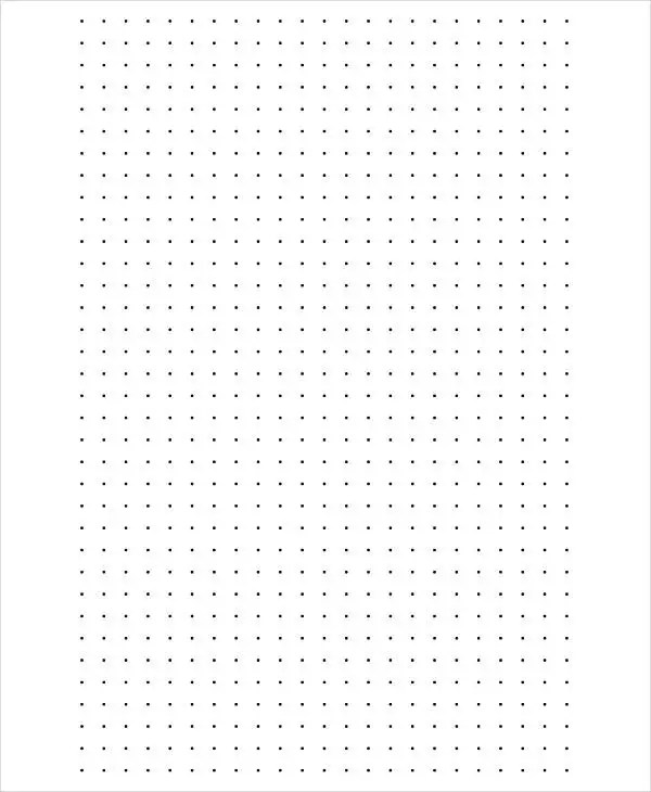 Dot Paper Template  Free Dot Paper Template Esempio Di Cv
