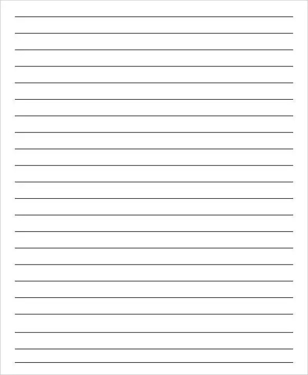 13+ Lined Paper Templates in PDF Free  Premium Templates - blank lined paper template