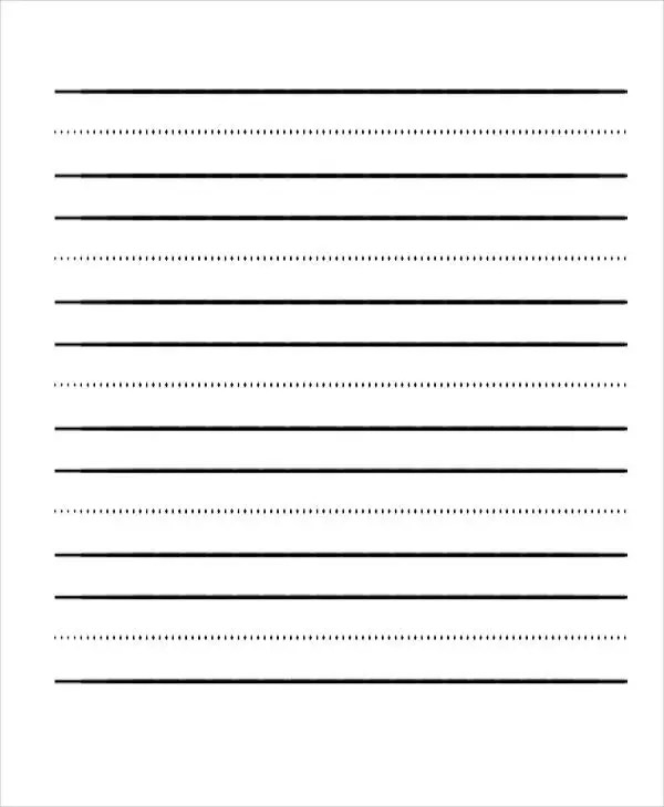 22+ Lined Paper Templates Free  Premium Templates