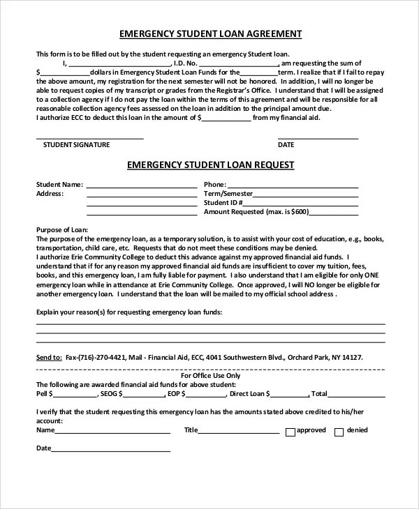 25+ Loan Agreement Templates Free  Premium Templates - financial loan agreement template