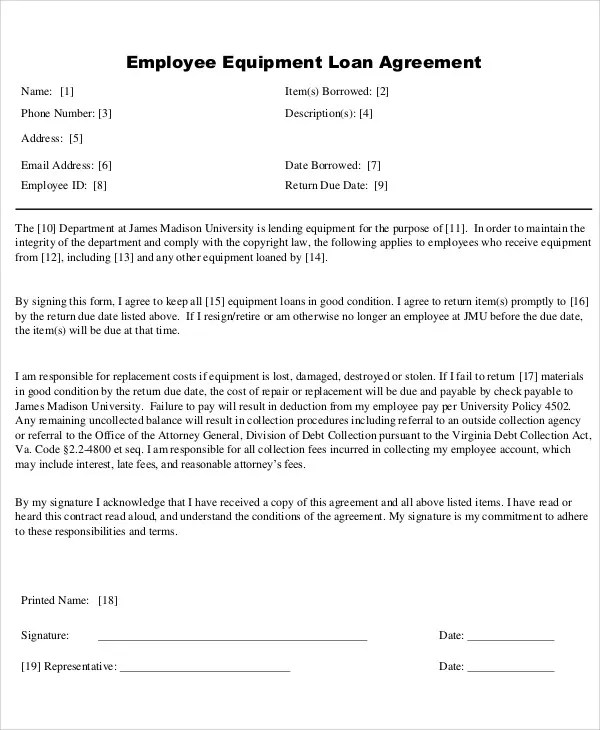 25+ Loan Agreement Templates Free  Premium Templates - loan documents template