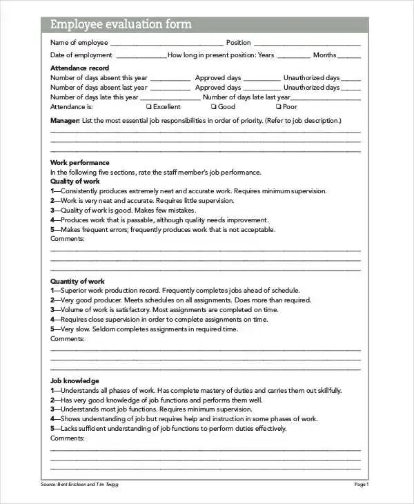 10 Evaluation Sheet Templates -Free Sample, Example Format Download - sample phase 10 score sheet template