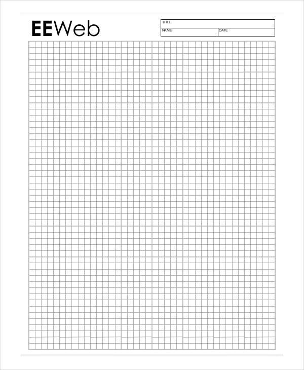Printable Graph Paper Templates - 10+ Free Samples, Examples - sample graph paper