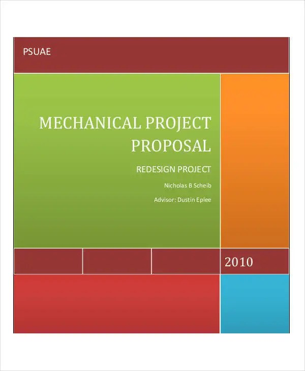 24+ Project Proposal Examples Free  Premium Templates - project proposal template sample
