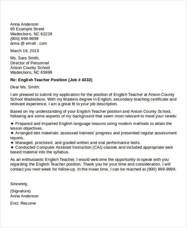 english teacher job description - Vatozatozdevelopment - english teacher job description