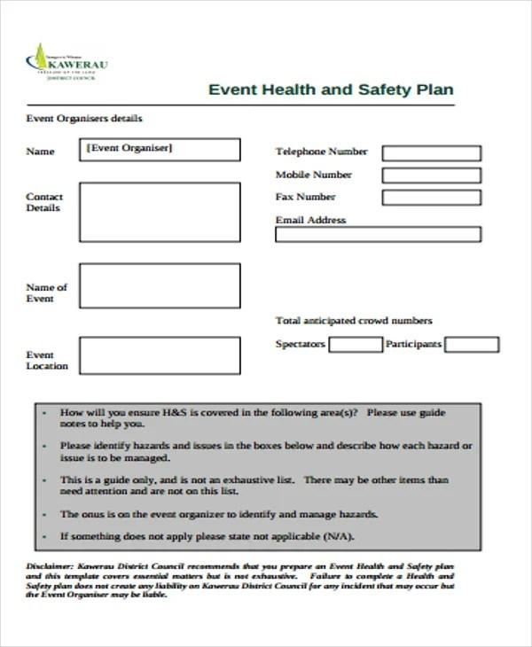 29+ Safety Plan Formats Free  Premium Templates