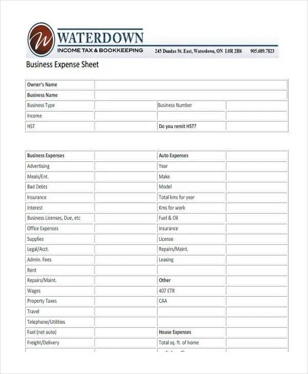 100+  Expenses Sheet Template  Best 25 Monthly Expense Sheet - expense sheets template