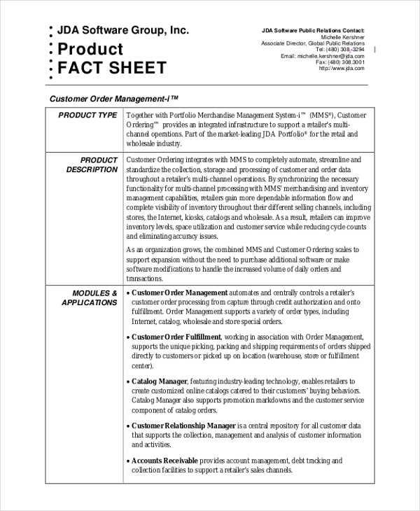 30+ Fact Sheet Samples Free  Premium Templates - Sample Information Sheet Templates