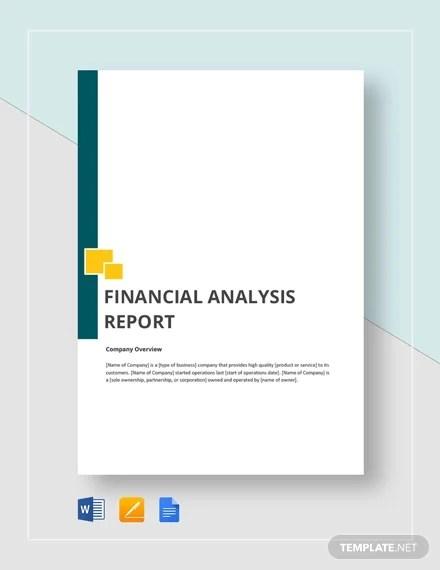 39+ Financial Analysis Samples - PDF, Word Free  Premium Templates