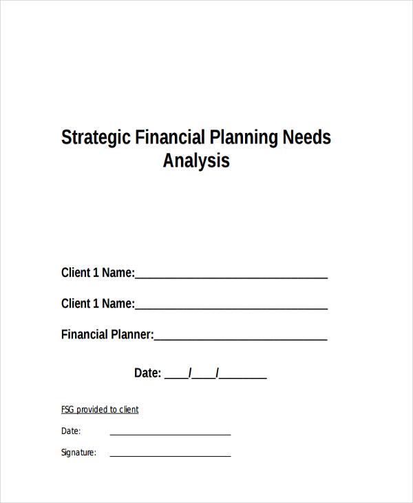 33+ Financial Analysis Samples Free  Premium Templates