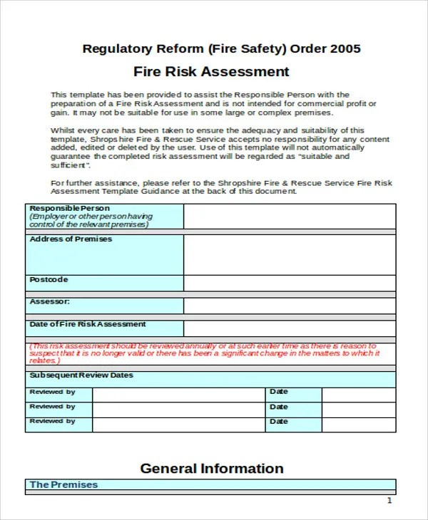 Assessment Templates In Word Free Premium Templates Fire Service - fire service application form