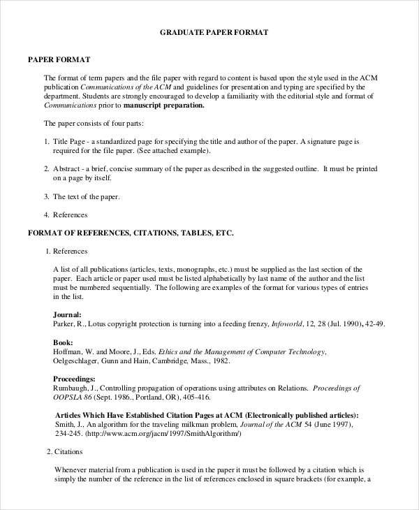 35+ Research Paper Samples Free  Premium Templates