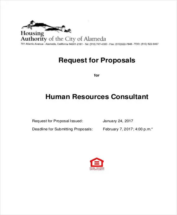 10+ HR Proposal Templates - Word, Pages, PDF Free  Premium Templates