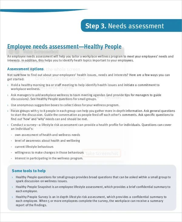 employee assessment forms