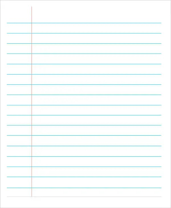 lined paper pdf - Josemulinohouse - Print College Ruled Paper