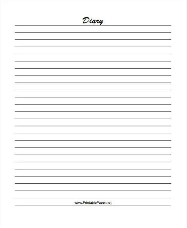 25+ Free Lined Paper Templates Free  Premium Templates