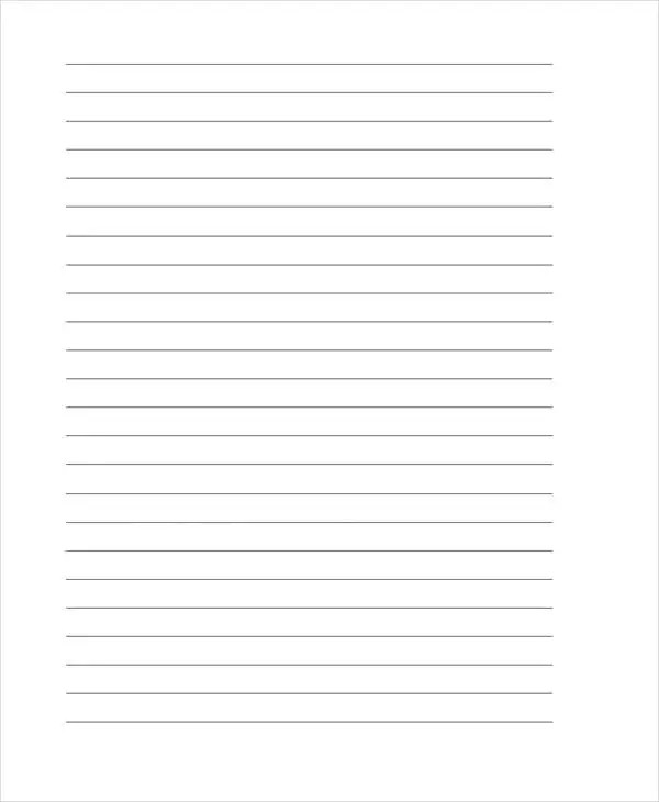 25+ Free Lined Paper Templates Free  Premium Templates - design paper for writing