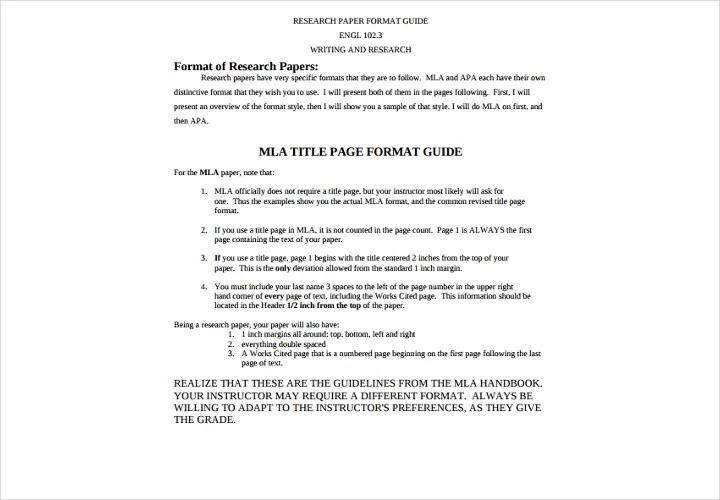 A Complete Guide to Research Papers Free  Premium Templates - paper formatting guidelines