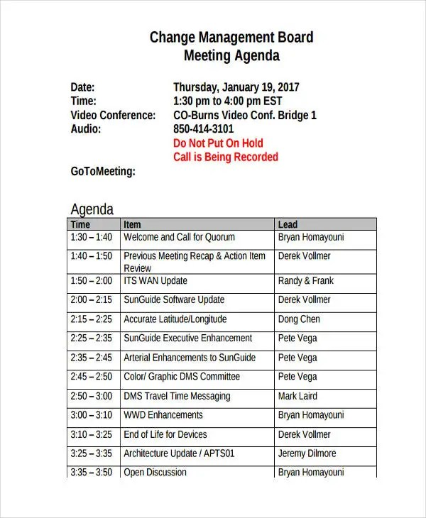 Managers meeting agenda template 9664564 - 1cashinginfo - management meeting agenda template