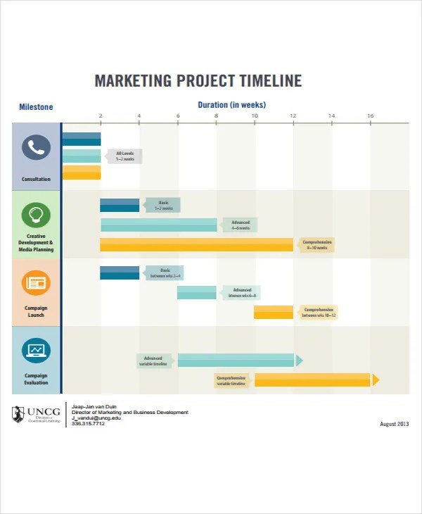 23+ Project Timeline Examples Free  Premium Templates