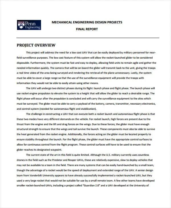 21+ Project Report Formats Free  Premium Templates