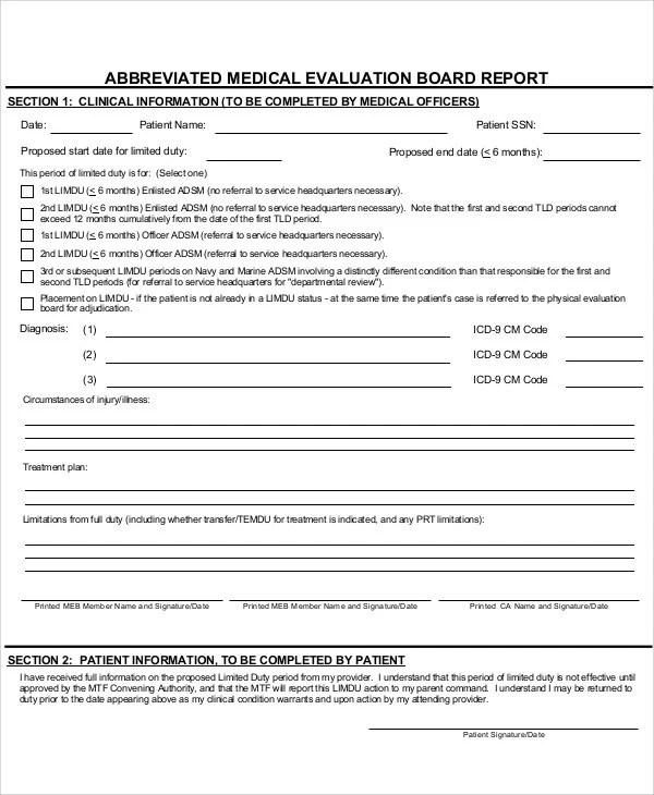 24+ Medical Report Samples Free  Premium Templates
