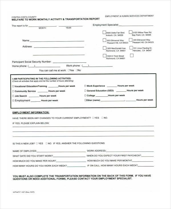 37+ Monthly Report Samples Free  Premium Templates