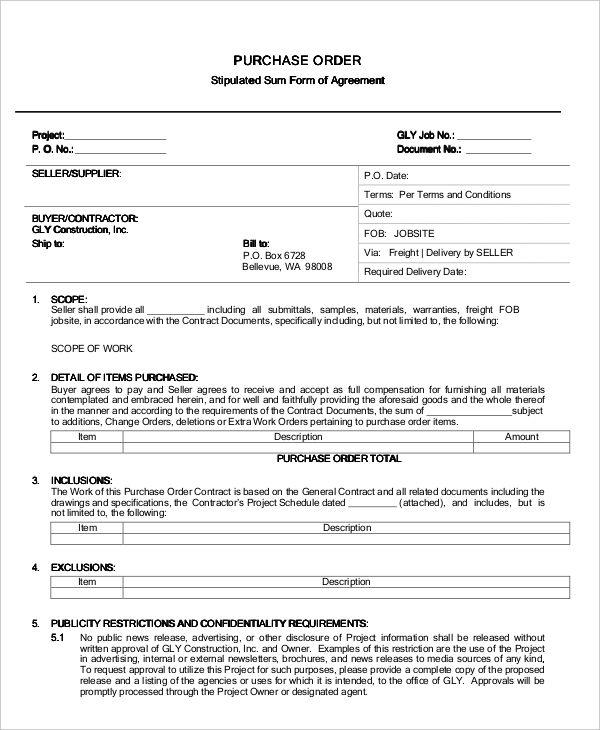 Construction Change Order Form. 8 best floral forms images on ...